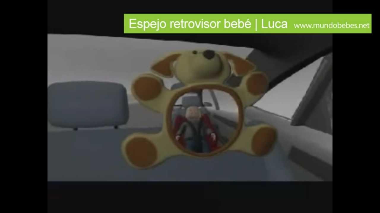 Espejo retrovisor bebe youtube for Espejo retrovisor bebe