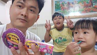 Trò Chơi Bé Tin Bán Kẹo Hubba Bubba ❤ Bubble Gum Hubba Bubba ❤Kids Toy Media❤