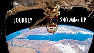 4K International Space Station Journey Over Earth / Earth from space ISS