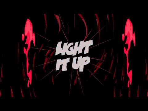 Major Lazer - Light It Up (feat. Nyla & Fuse ODG) [Remix] (Official Lyric Video)