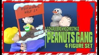 Christmas Spot 2018 | Memory Lane Charlie Brown's Christmas Set of Lucy, Schroeder and Pigpen