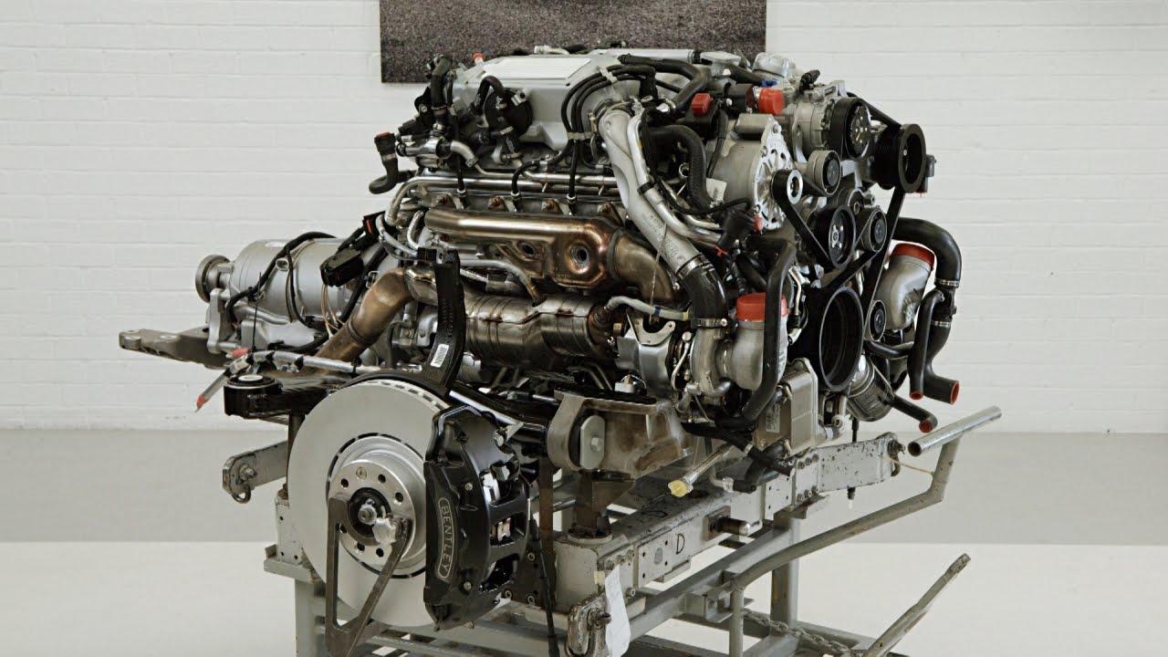 Assembling a Bentley Mulsanne Engine