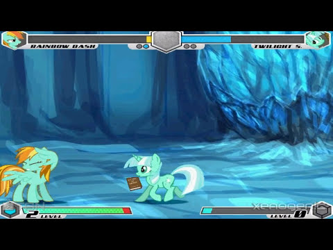 Fighting is Magic: Artic Throne Room (Lightning Dust vs Lyra)