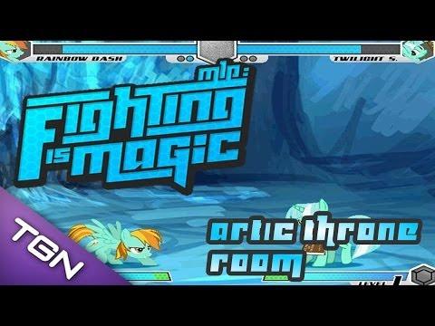 Fighting is Magic: Artic Throne Room (Lightning Dust vs Lyra)
