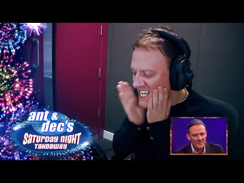 Antony Cotton's 'Get Out Of Me Ear!' Prank With Ant & Dec - Saturday Night Takeaway thumbnail
