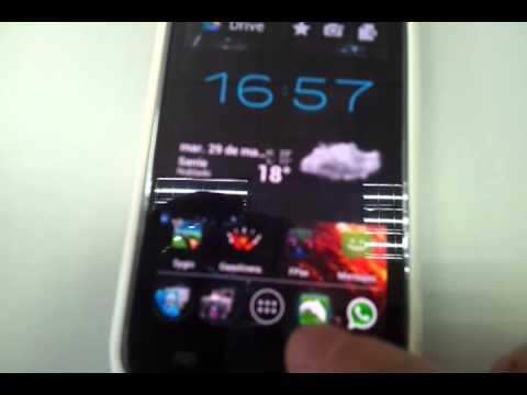 Samsung Galaxy S i9000 ICS 4.0.4 IMM76I