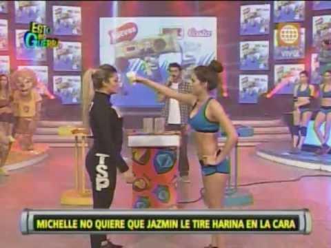 Esto es Guerra: Michelle se niega a enfrentar a Jazmín Pinedo - 02/07/2013