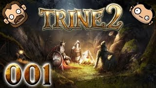 Let's Play Together Trine 2 #001 - Drei mal Zwei Helden [720p] [deutsch]