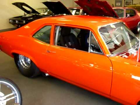 1971 Nova Super Car, 810 Horsepower Pro Street For Sale!