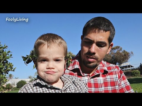 BABY STUCK AT BIRTHDAY PARTY! - December 13, 2014 - FoolyLiving Vlog