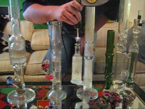 how to clean a bong with percs