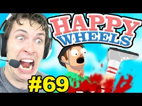 Happy Wheels - SURVIVAL HOUSE