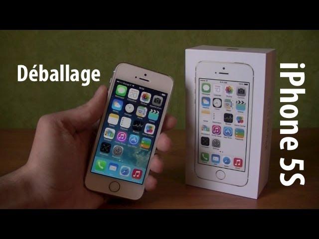 apple iphone 5s 64 go or au meilleur prix sur. Black Bedroom Furniture Sets. Home Design Ideas