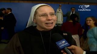 País é consagrado ao Imaculado Coração de Maria; Bolsonaro participa de evento
