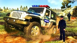 Off-Road Police Jeep - Best Off-Road Simulator   Driving Police Car   Top Android Gameplay