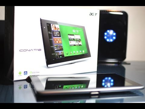Acer Iconia Tab A500 10.1-Inch Android Tablet Unboxing