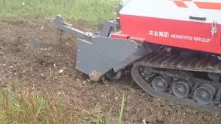 Máy cày đào vàng cho nông dân