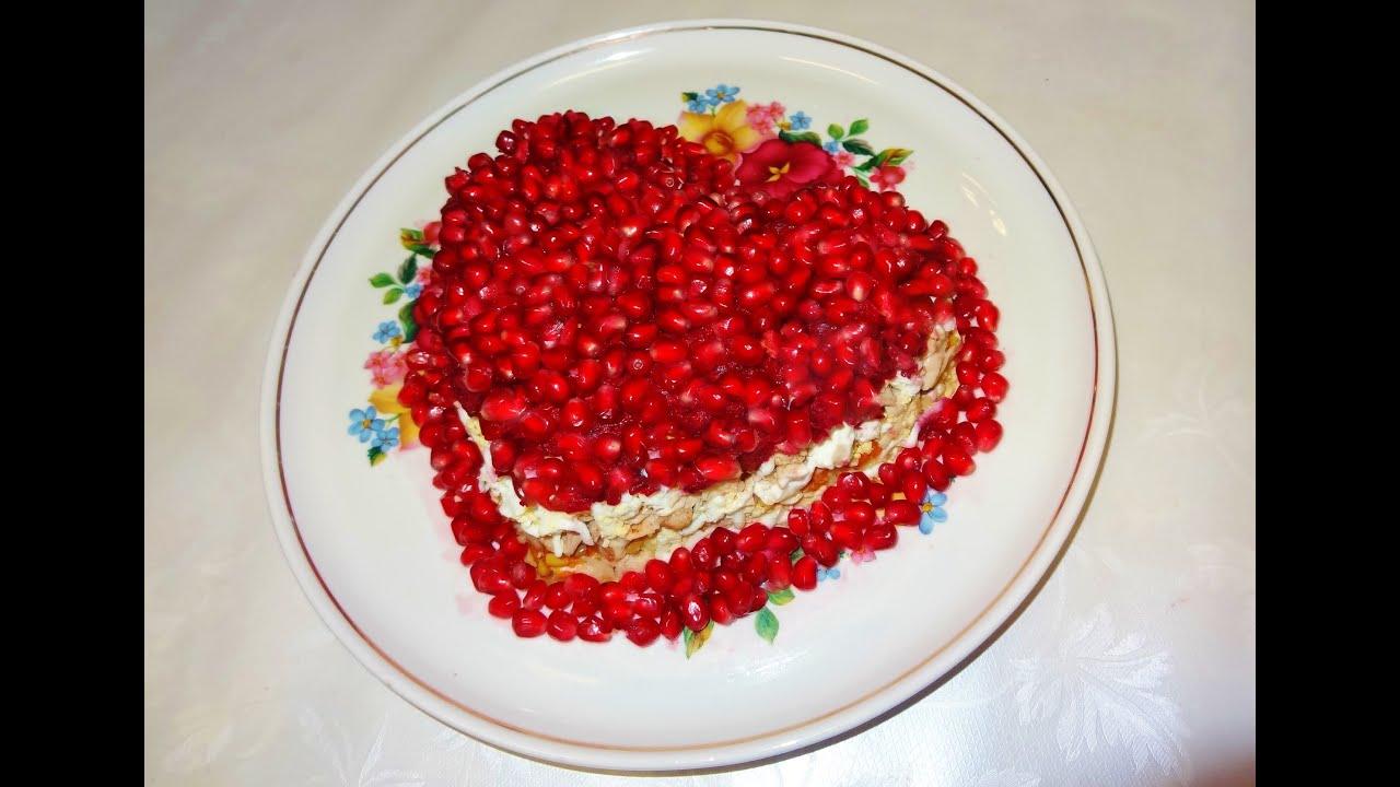 Салаты рецепты с пошагово на день рождение