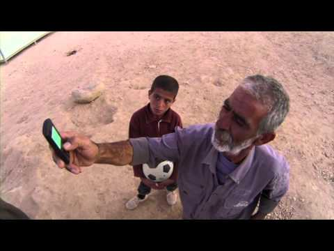 Syria's Refugee Children: Abdallah Phone Home