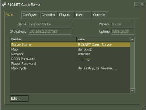 Hl как создать сервер