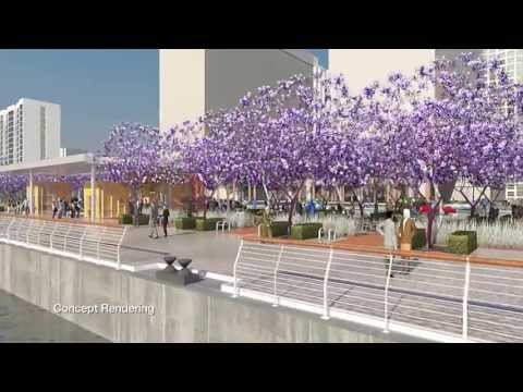 Construction Milestone Celebrated On San Diego's North Embarcadero