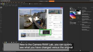 Introducing the improved RAW Lab in PaintShop Pro X8