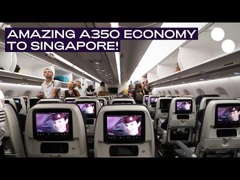 QATAR AIRWAYS A350-900XWB ECONOMY I DOHA - SINGAPORE