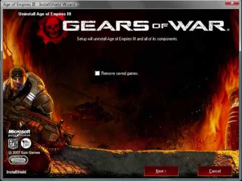Let's Uninstall Age of-GEARS OF WAR!?
