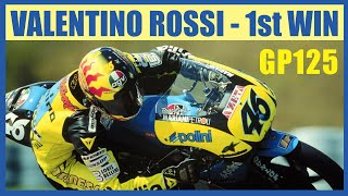 Kemenangan Pertama Valentino Rossi GP 125 Brno Ceko 1996