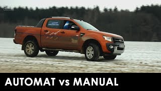 Ford Snow Tour Ford Ranger automat vs manual