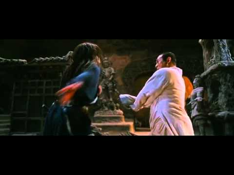 Jet Li And Jackie Chan Fight Scene From The Forbidden Kingdom video