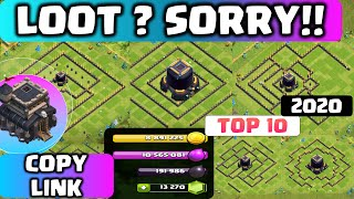 LEGEND TH9 DARK ELIXIR FARM BASE with COPY LINK 2020!! DE Protection and Saving BEST COC TH9 BASE
