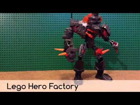 Lego Hero Factory 44005 Bruizer Review