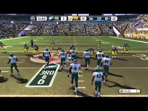 Madden Nfl 15 Eagles  Steelers video