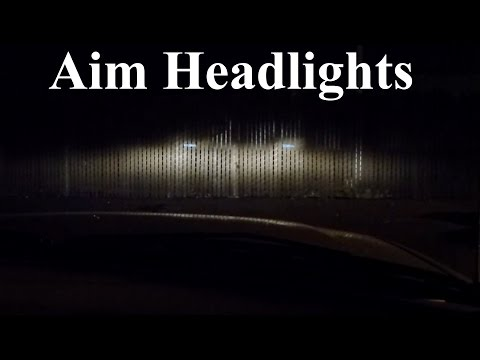 How to Adjust. Align. and Aim Headlights and Fog Lights PERFECTLY