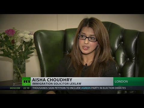 LEXLAW UK Immigration & Visa Solicitor interviewed on RT News