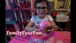 LOL Surprise Dolls | Lil' Sister Series | FamilyFourFun | Unboxing