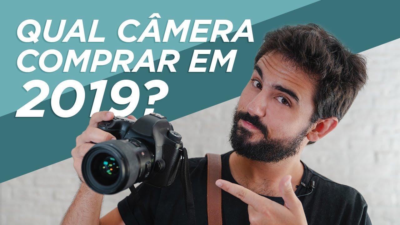 Câmeras para comprar em 2019