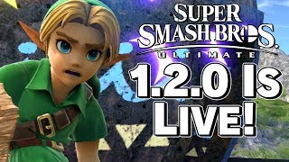 Smash Ultimate 1.2.0 OFFICIALLY LIVE! Patch Notes Discussion - Super Smash Bros. – Aaronitmar