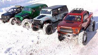 NEXT BIG THING: 1/8 scale Trail Trucks : BACKYARD TRAIL PARK - 4x4 Cragsman Crew | RC ADVENTURES