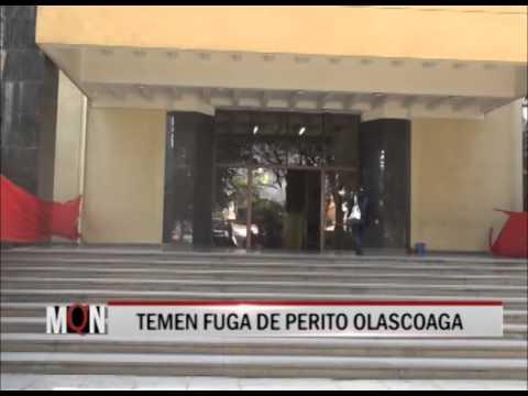 23/04/2015 17:00 TEMEN FUGA DE PERITO OLASCOAGA