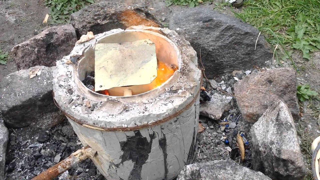 Как сделать печь для плавки металла 45