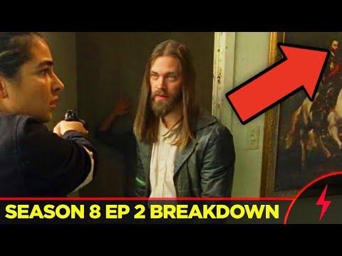"Walking Dead 8x02 BREAKDOWN (""The Damned"") - References & Easter Eggs"