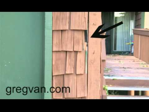Exterior Shake Shingle Cracks And Damage Home Repair