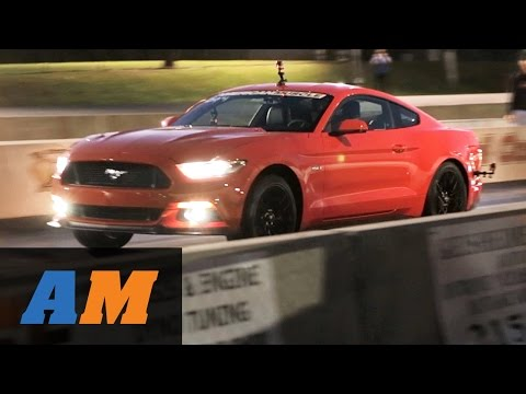 2015 Mustang GT Stock 1/4 Mile vs. 2012 Mustang GT Drag Race by AmericanMuscle.com