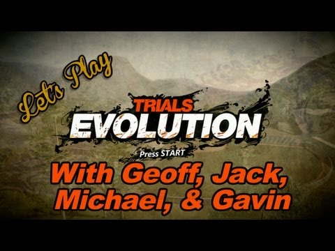 Let's Play Trials Evolution With Geoff, Jack, Michael, & Gavin Music Videos