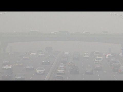 China smog worsens as climate change talks begin