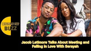 Jacob Latimore Talks About Meeting and Falling in Love With Serayah