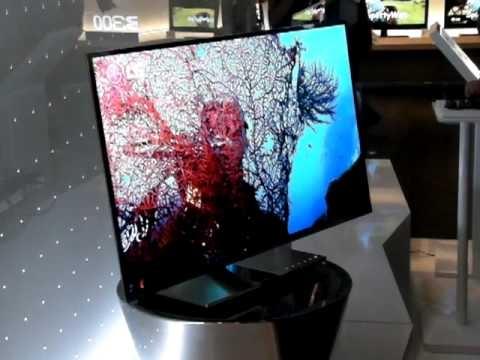 IFA 2010 - LG 31 inch OLED protoype