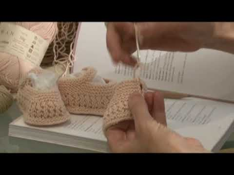 Free Knitting Pattern Coats Crafts Knit Baby Bootees7 Sewingup